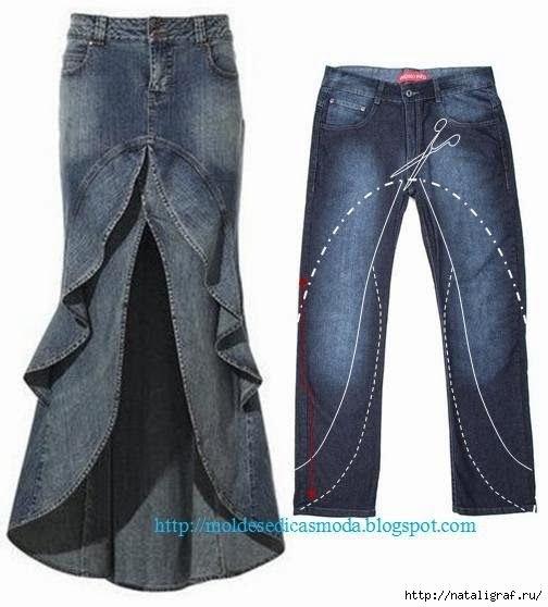 36 Ideas para el Reciclaje de Jeans