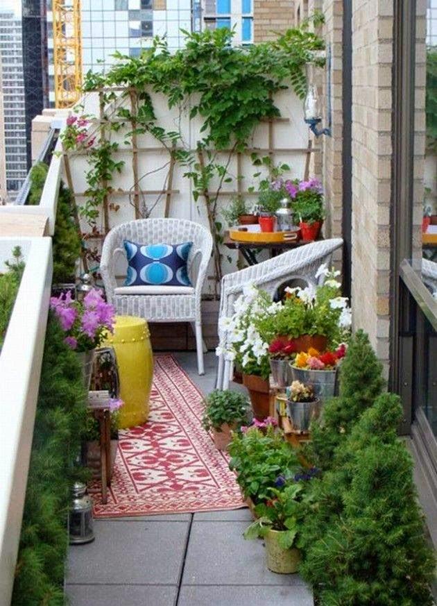 30+ Balcones Pequeños con Mucho Estilo para Inspirarte