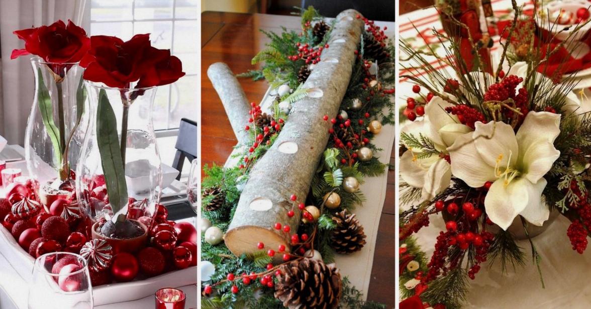 20 fant sticos centros de mesa navide os - Centro de mesa navideno ...