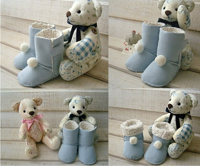 Creative-Ideas-DIY-Baby-Ugg-Boots-15