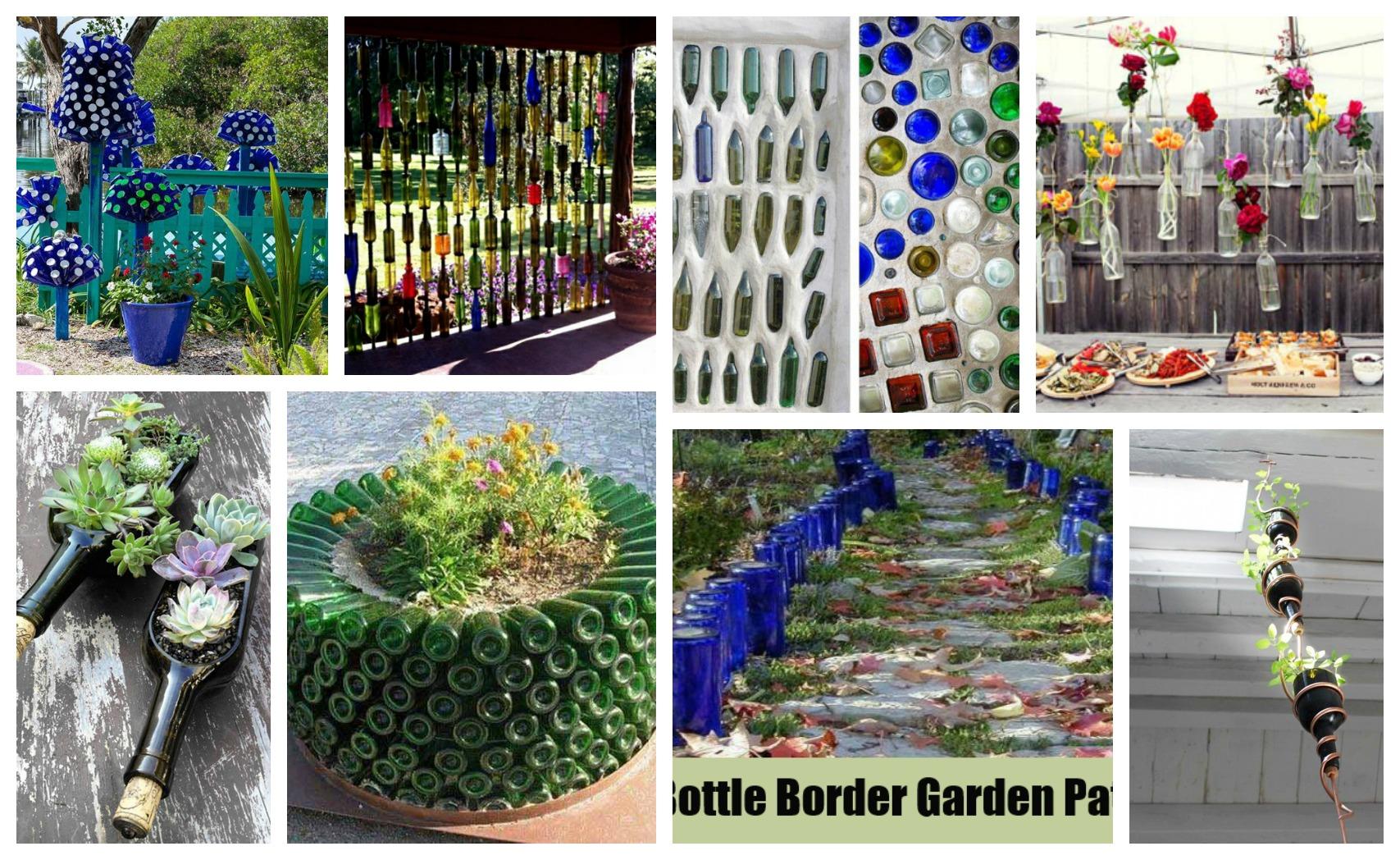 15 ideas originales para reciclar botellas en el jard n - Ideas originales jardin ...