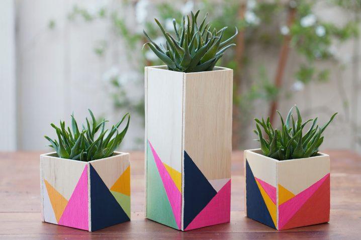 30+ Ideas Estupendas para Decorar con Formas Geométricas