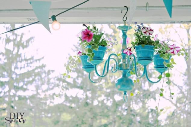 10+ Ideas Jardineras Colgantes