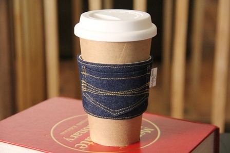 Make-A-Denim-Coffee-Cozy