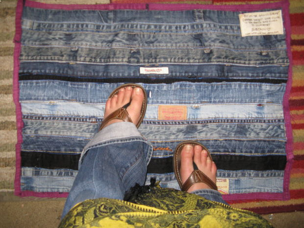 Make-A-Denim-Floor-Mat