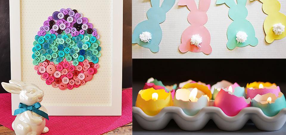 20 Manualidades Y Decoraciones Para Pascua - Manualidades-y-decoraciones-para-el-hogar