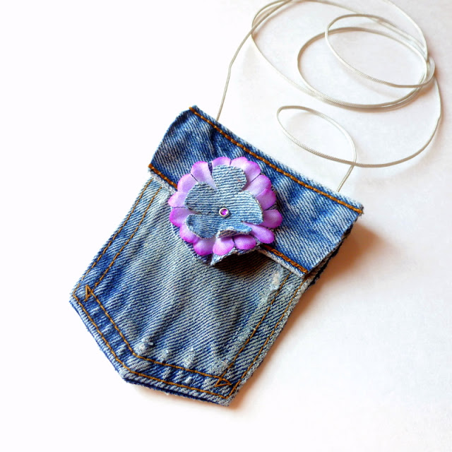 No-Sew-Mini-Blue-Jean-Purse