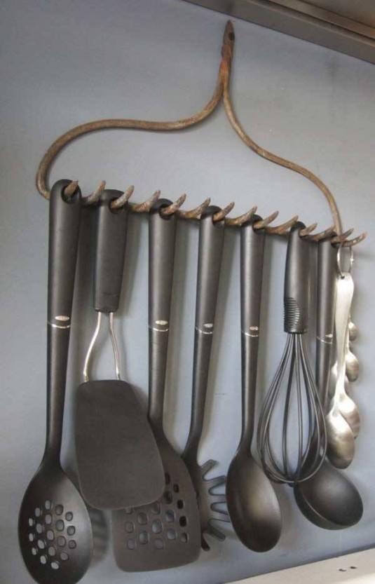 Ingeniosas Formas para Organizar Los Utensilios De Cocina