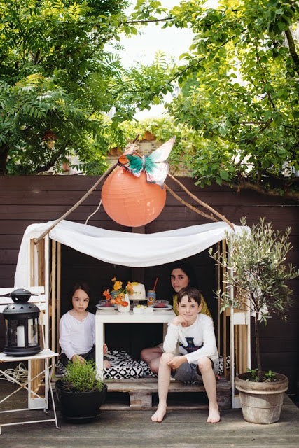 20+ Ideas Imprescindibles con Palets para Niños