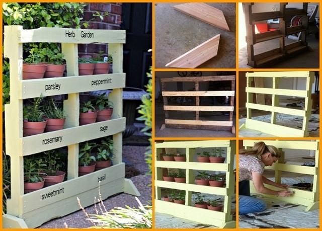 Pallet-Garden-Planter