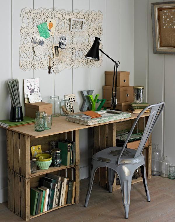 Wood-Crate-Desk