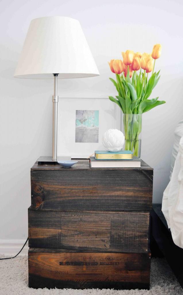 Wooden-Crate-Nightstand