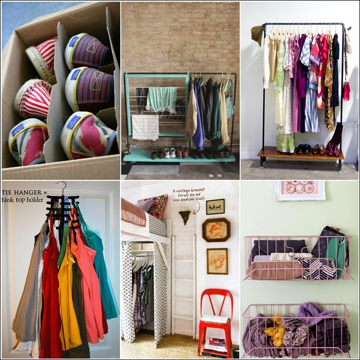 15 maravillosos trucos para organizar tu peque o cl set for Ideas para closets pequenos