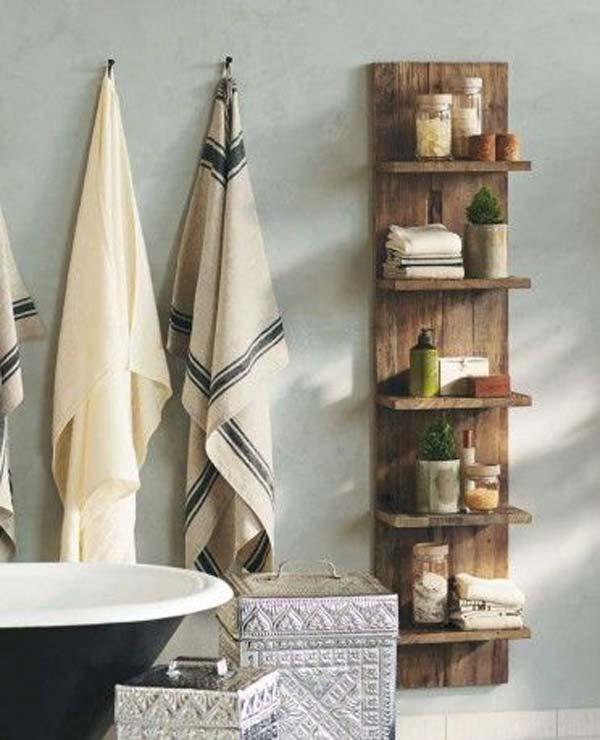 25+ Impresionante Ideas Rusticas para el Baño con Palets
