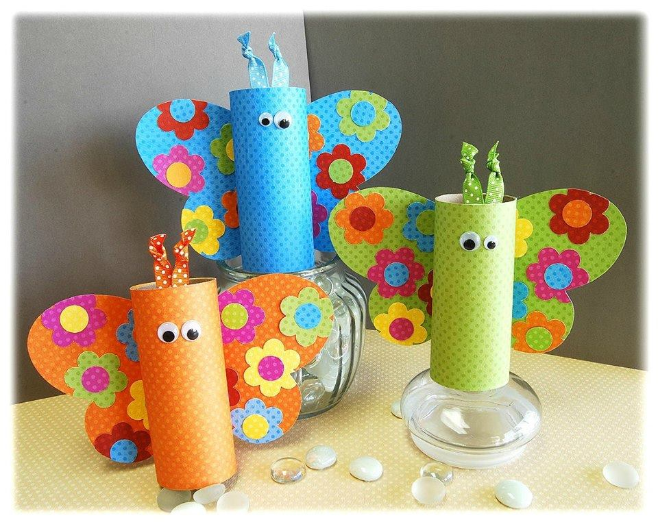 brinquedos-rolos-de-papel-borboletas