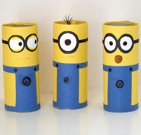 brinquedos-rolos-de-papel-minions