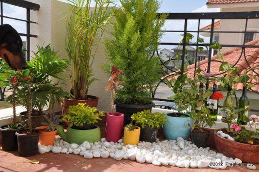 Sorprendentes Ideas para Decorar su Balcón con Piedras