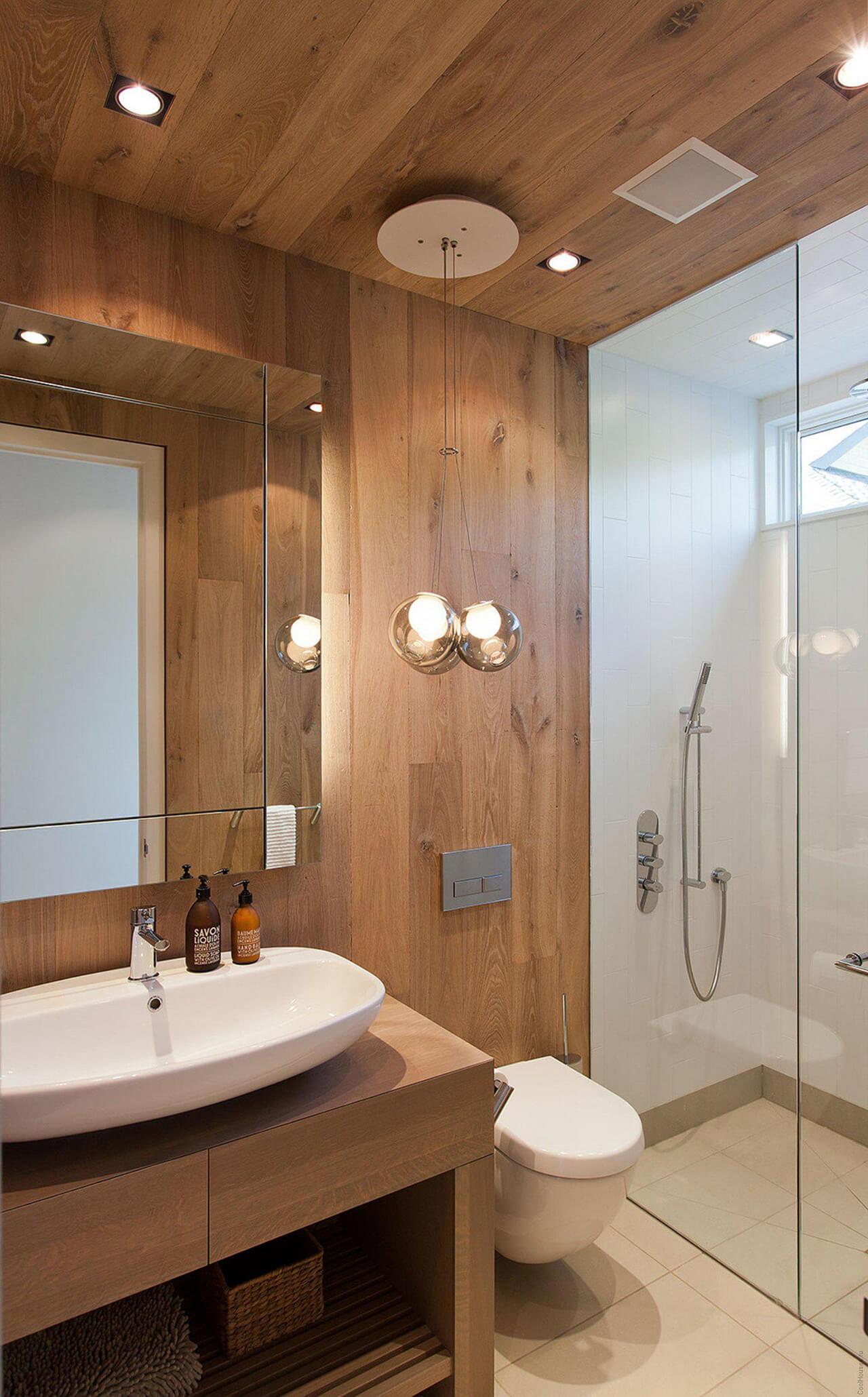 20+ Estupendas Ideas de Diseños de Baños Modernos y Pequeños