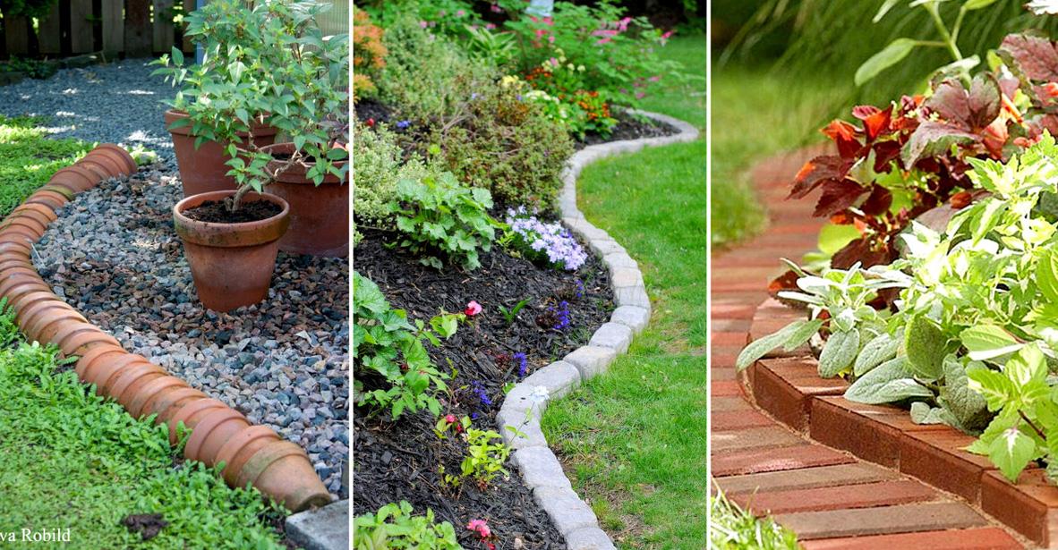 15 Estupendas Bordes De Jardin