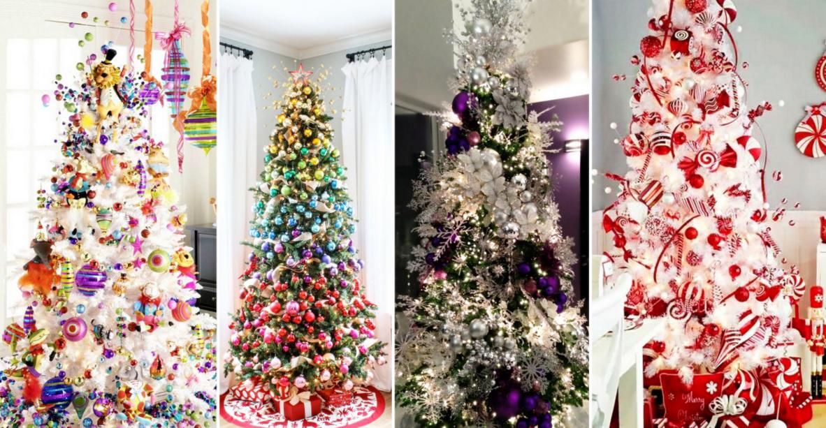 20 estupendas ideas para decorar arbol de navidad for Ideas para decorar el arbol de navidad