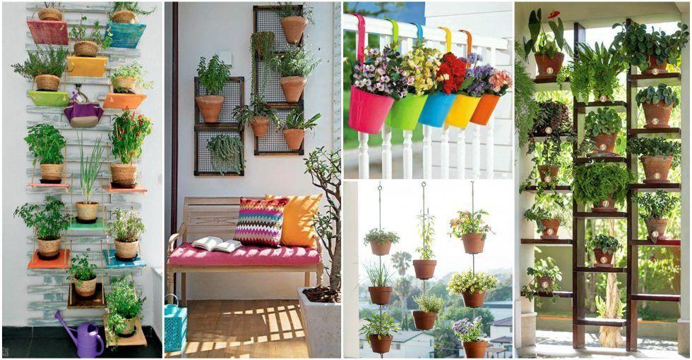 Alucinantes Decoraciones De Flores Para Balcones Pequenos - Fotos-de-balcones-con-flores