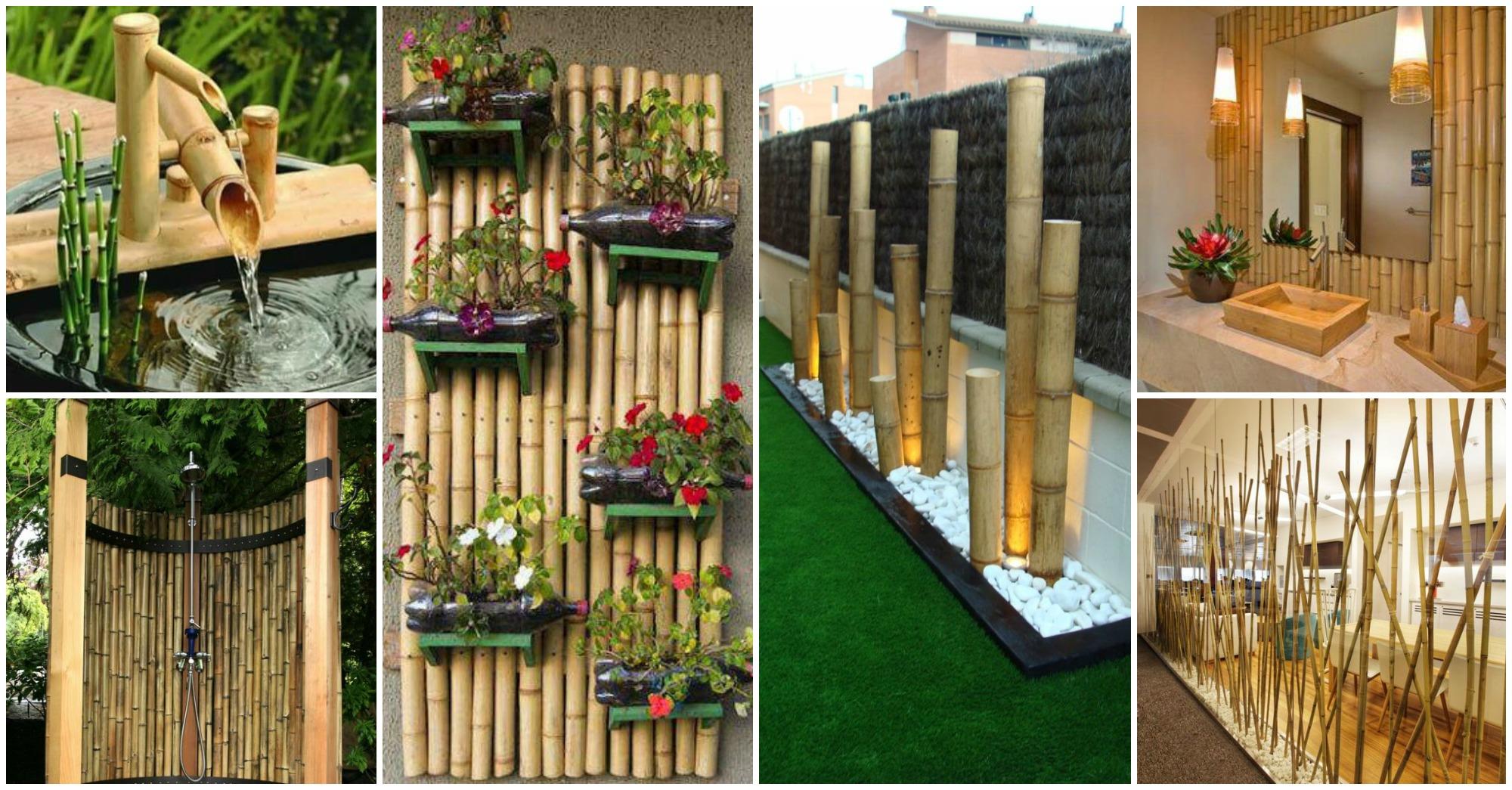 25 Ideas Impresionantes Para Decorar Con Bamb 250