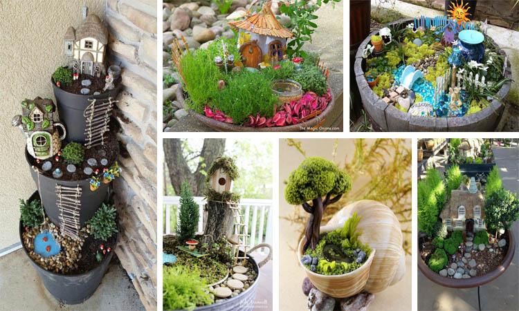 15 ideas originales para crear un jard n de hadas - Ideas originales para jardines ...