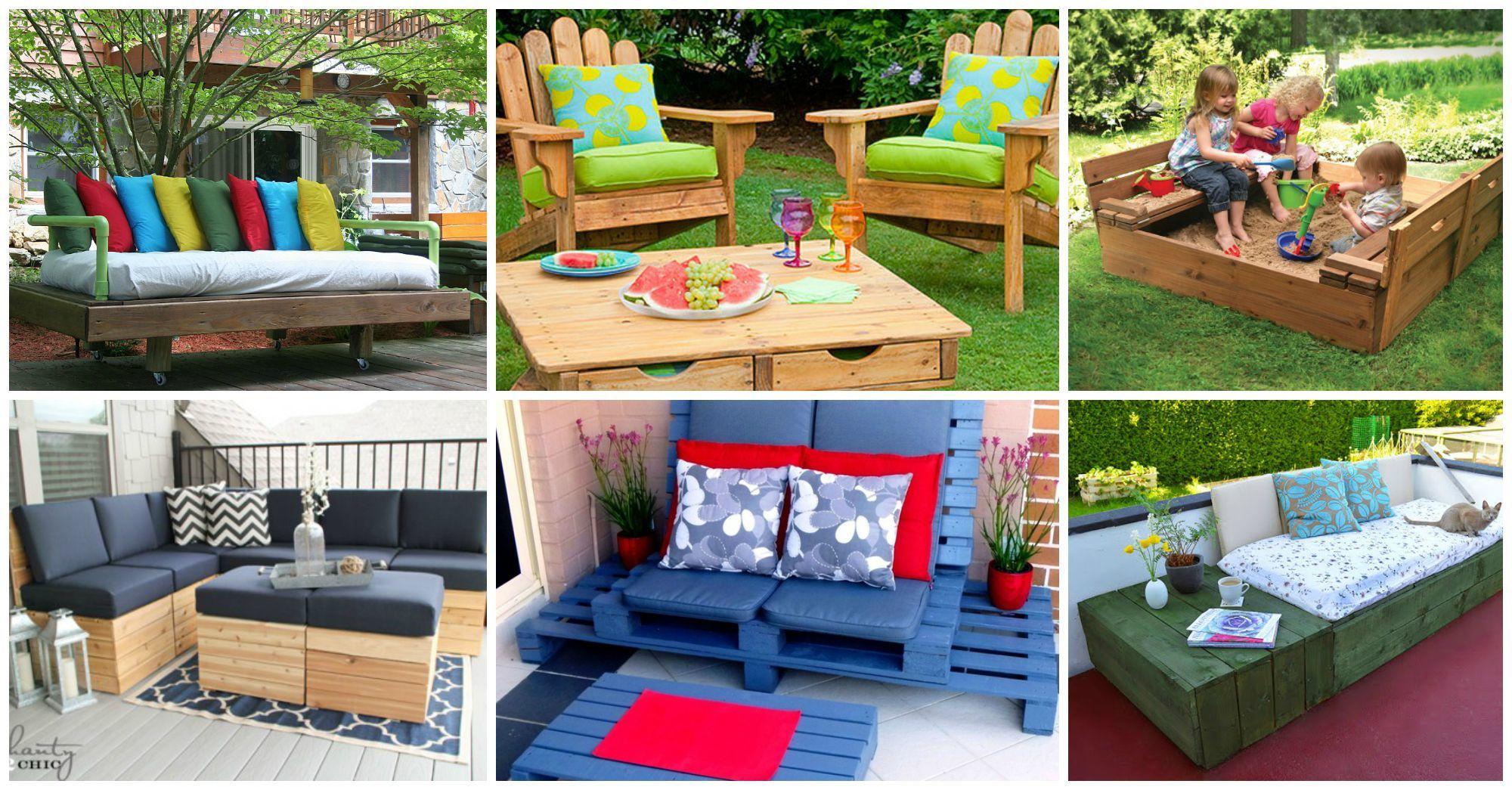 10 muebles para jardines que te har n so ar al aire libre for Muebles patio
