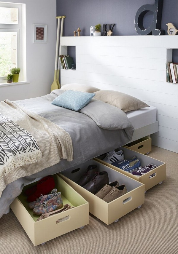 15+ Ideas de Organización Rápidas y Sencillas para poner su Dormitorio en Orden