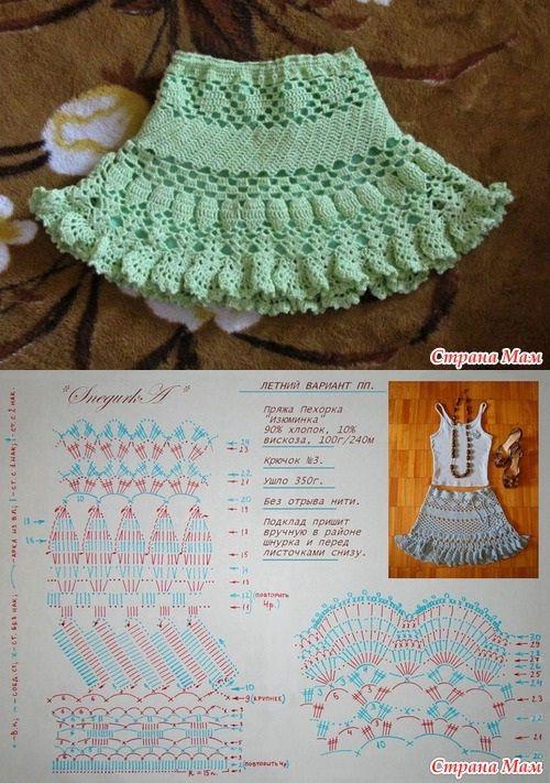 15+ Faldas Tejidas Inspiradoras