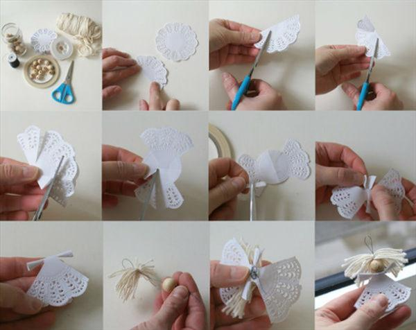 homemade-christmas-tree-ornaments-doilies-angel-diy-idea