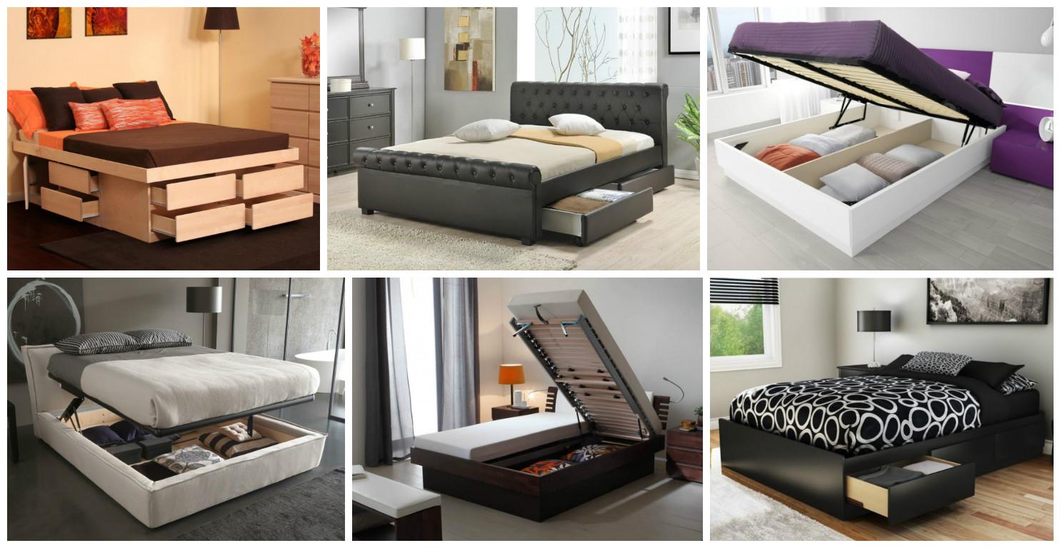 20 soluciones de almacenaje para aprovechar tu dormitorio - Aprovechar espacio dormitorio ...