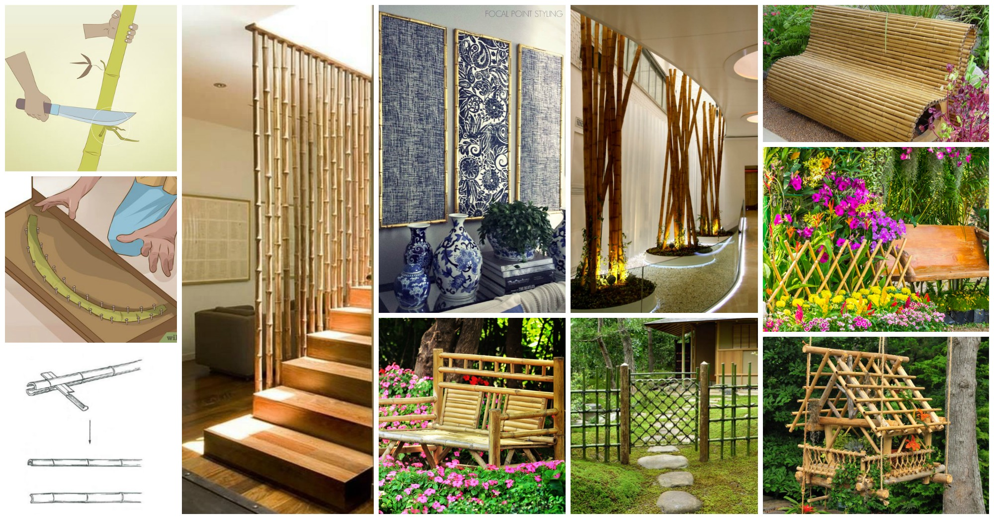15 hermosas ideas para decorar con bamb - Bambu para decorar ...