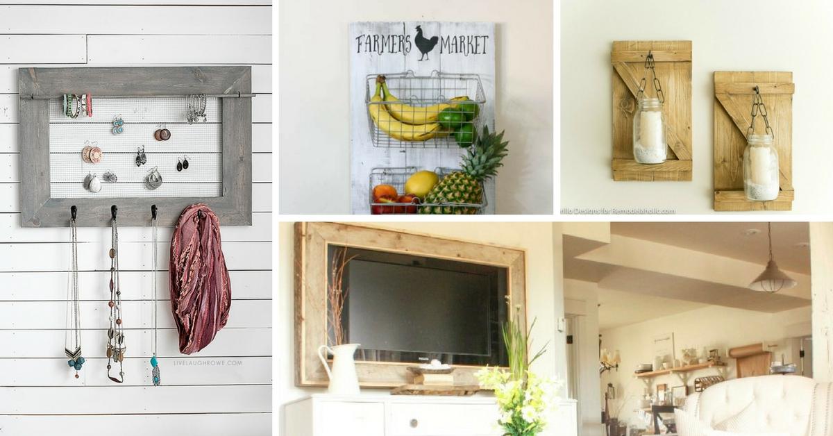 20 artesanias fantasticas para decorar tu hogar con for Decorar su casa de campo