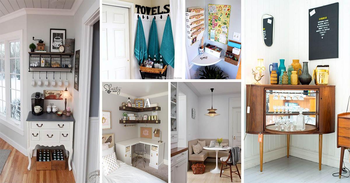 Ingeniosas ideas para decorar esquinas en diferentes - Decorar esquinas ...