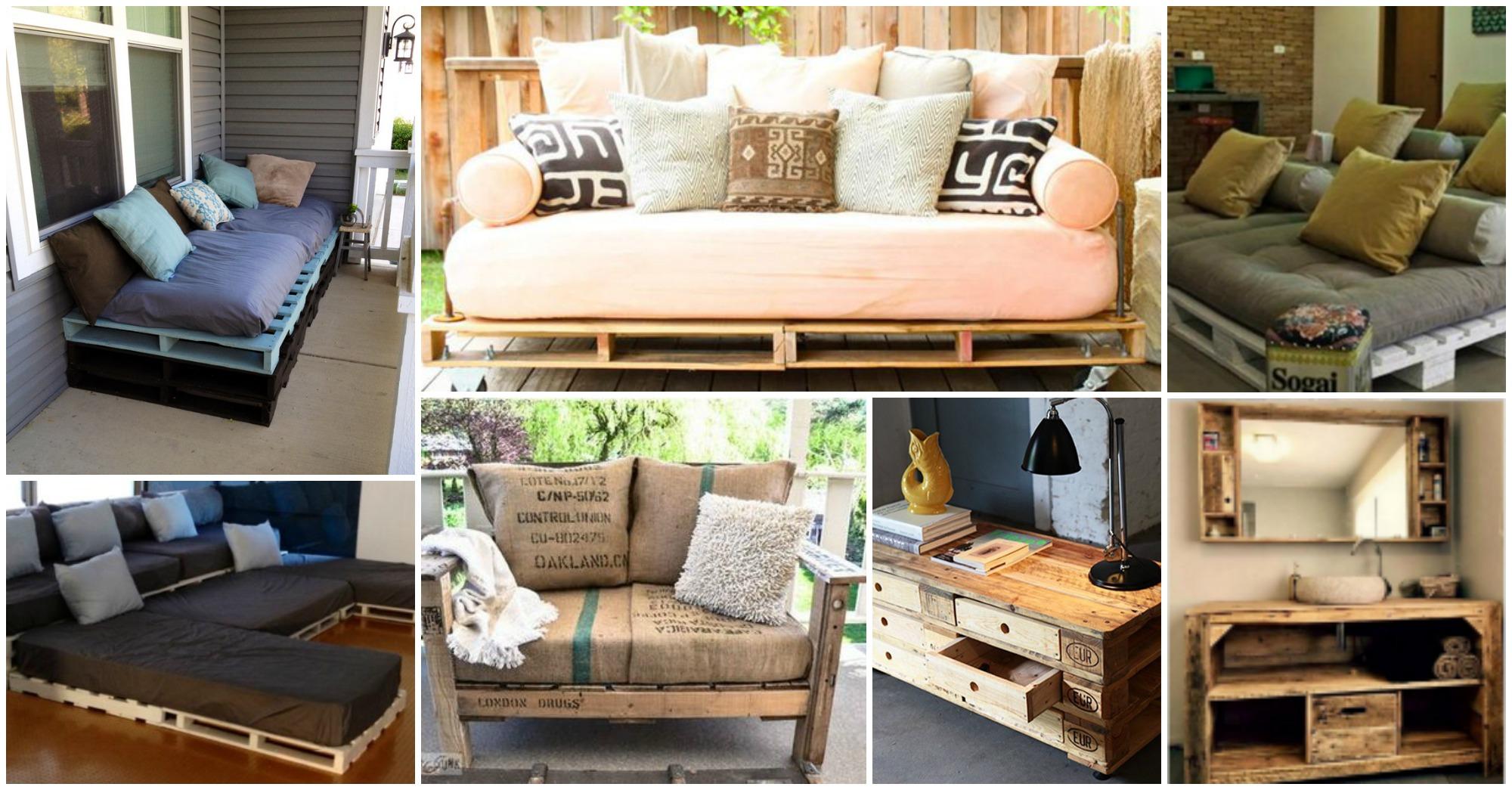 15 Originales Muebles Hechos Con Palets Para Decorar Tu Hogar