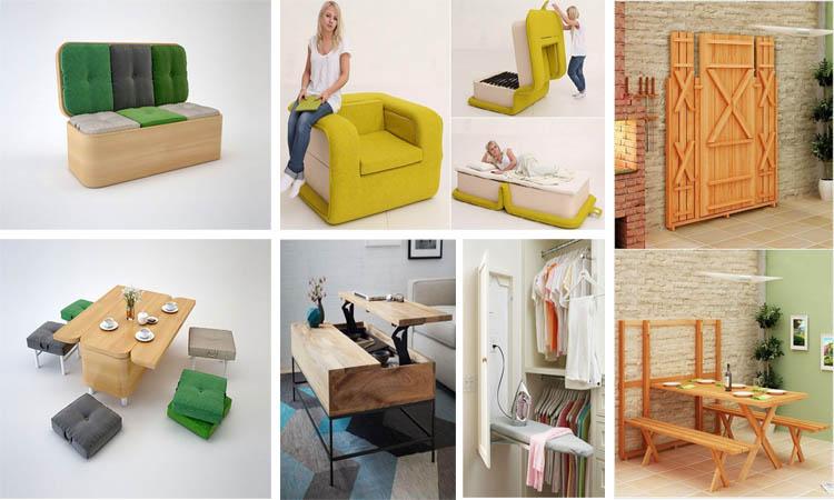15 muebles ingeniosos para ahorrar espacio - Perchas ahorra espacio ...