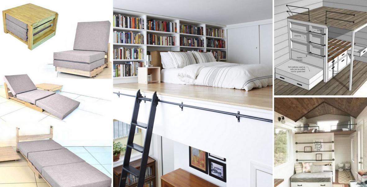 20 ideas creativas para peque as camas for Ideas camas