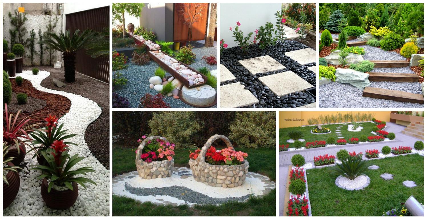 10 ideas para dise ar un jard n con piedras for Disenar jardines online gratis