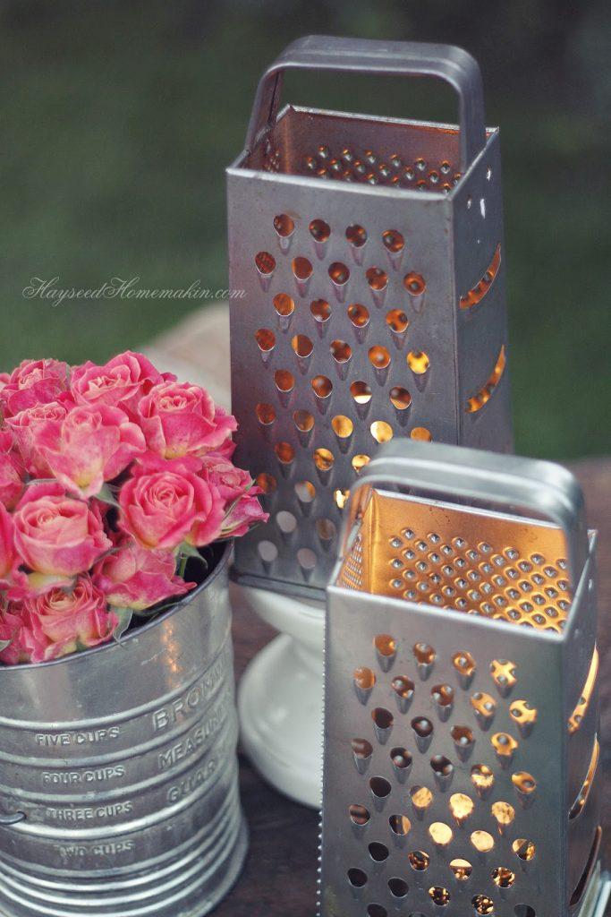 20 ideas geniales para decorar jard n con art culos de cocina for Articulos cocina originales