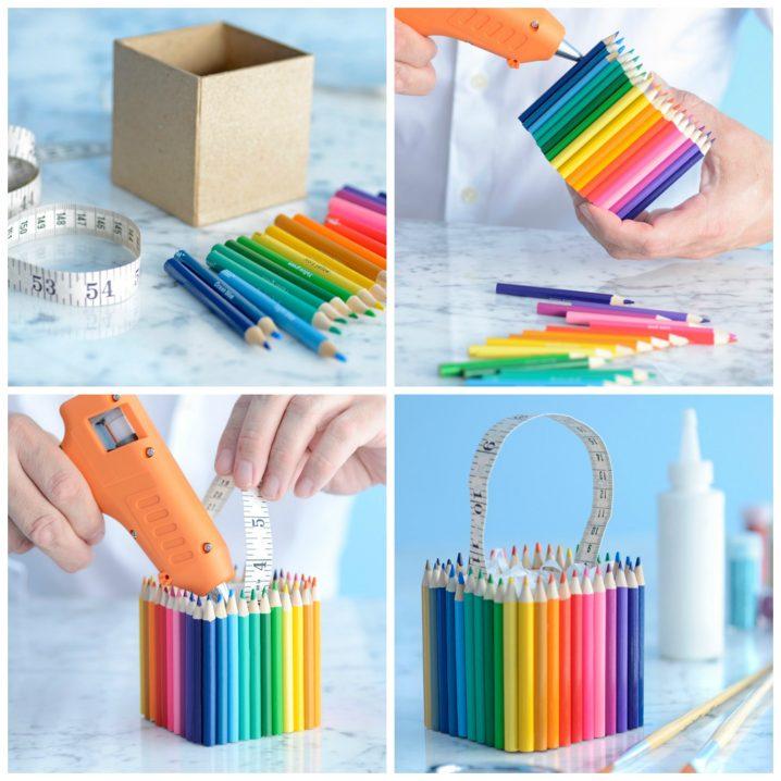 manualidades-reutilizando-lapices-de-colores-1