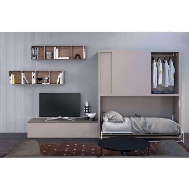 15 muebles ingeniosos para ahorrar espacio - Letto ad armadio a scomparsa ...