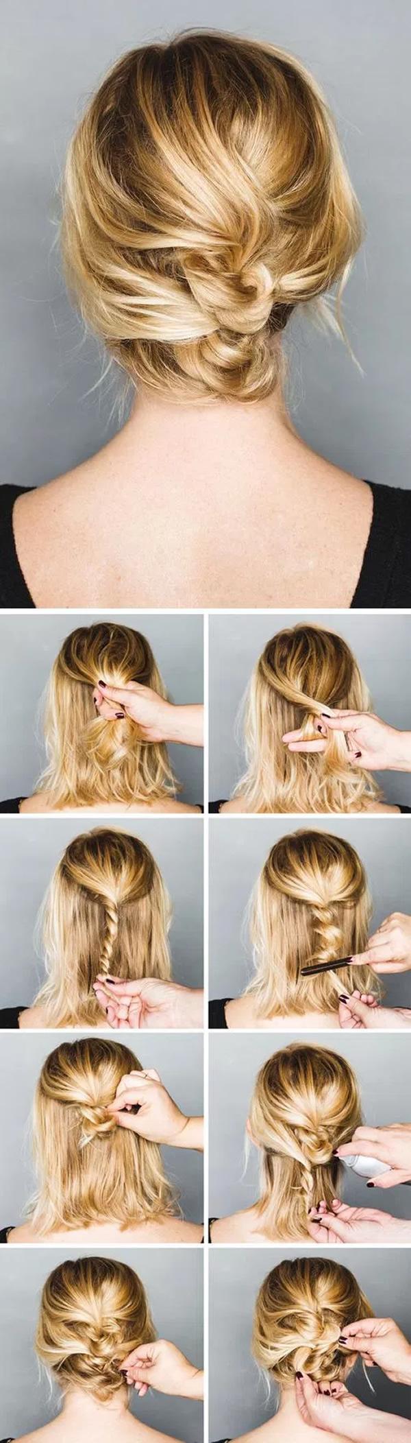 Ideas de Peinados para Cabello Corto