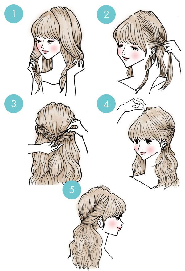 penteado-rapido-tranças