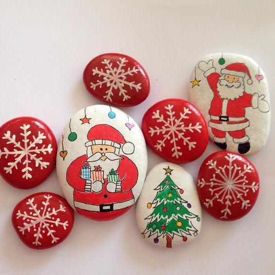 piedras-pintadas-navidenas-2