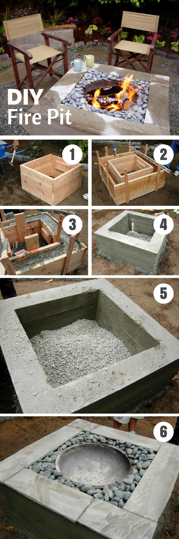 15+ Increíbles Proyectos de Concreto de Patio Trasero