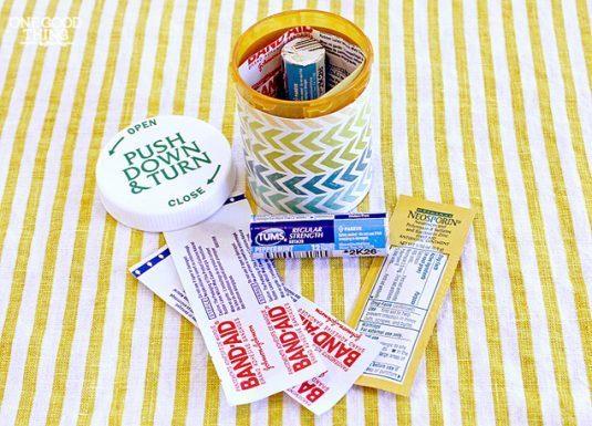 reciclar-botellas-píldora-vacía -5