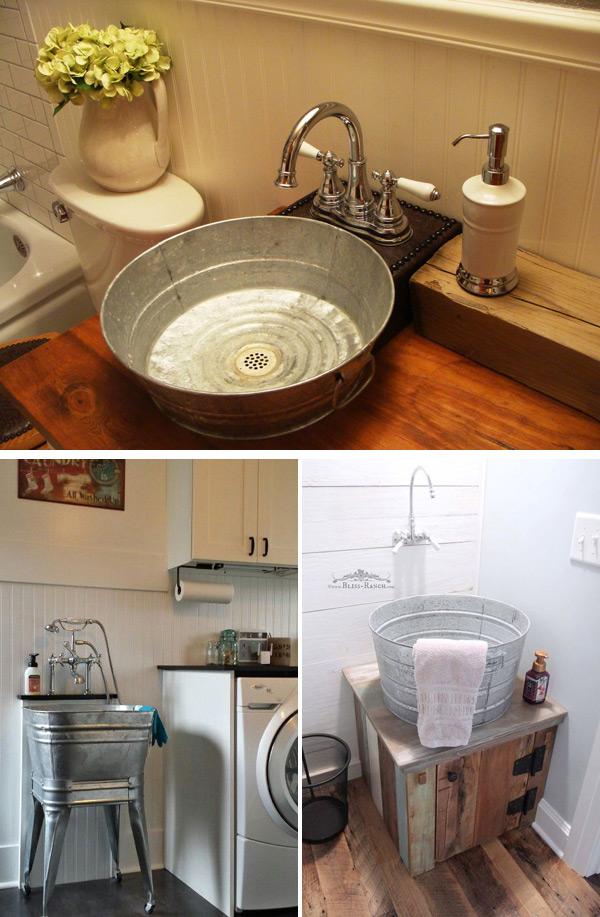 15+ Proyectos Reciclados para Personalizar su Pequeño Baño