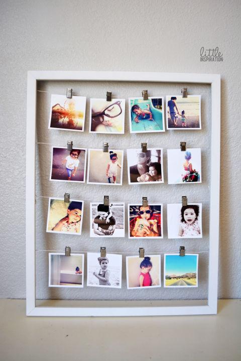 20+ Ingeniosas Formas de Reutilizar tus Marcos de Fotos y Cuadros Viejos
