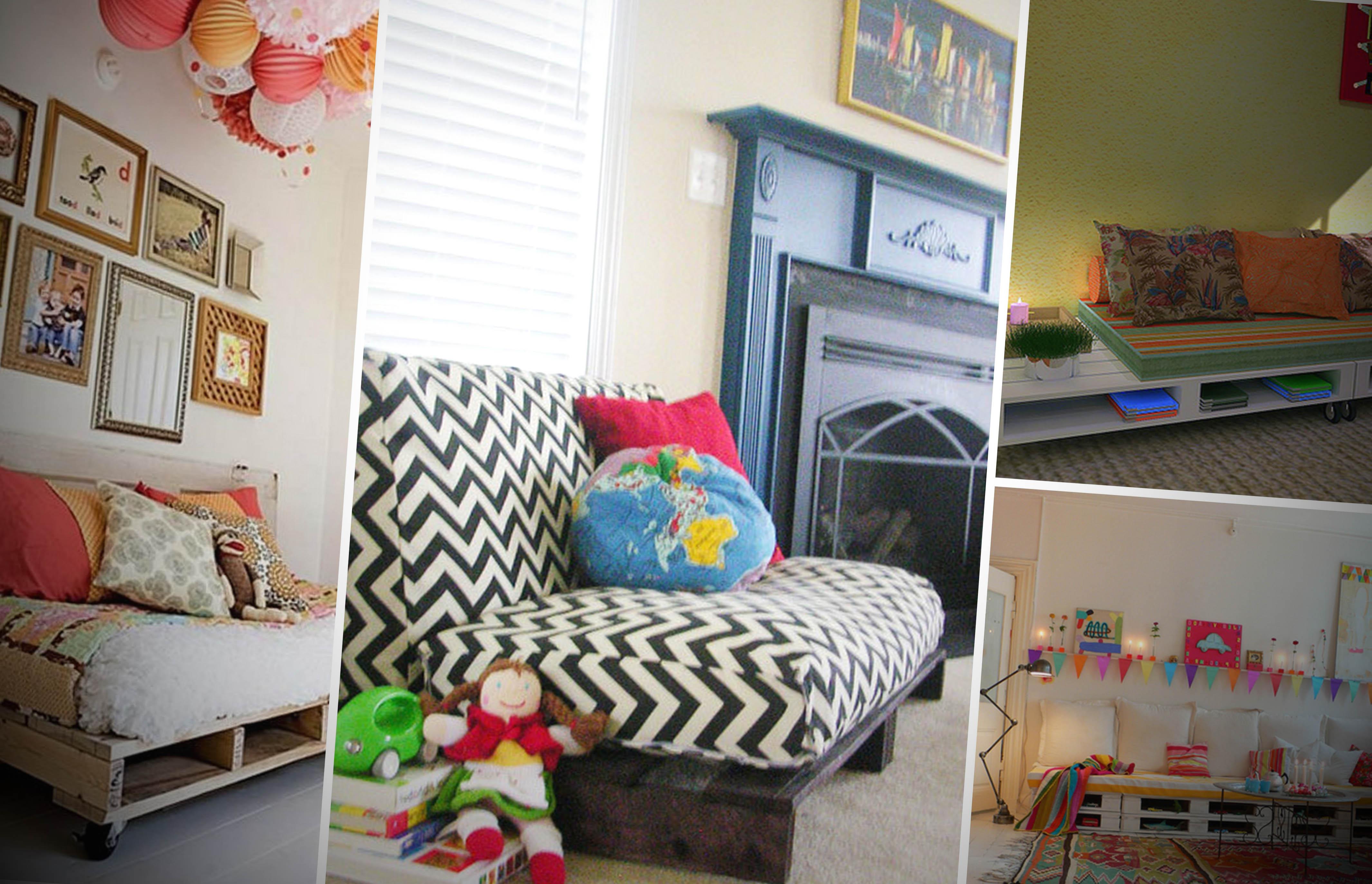 Ideas de sillones y sof s de palets muy originales - Sillones originales ...